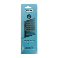 "Wahl 6"" Professional Groomer Comb- 62 Pins"