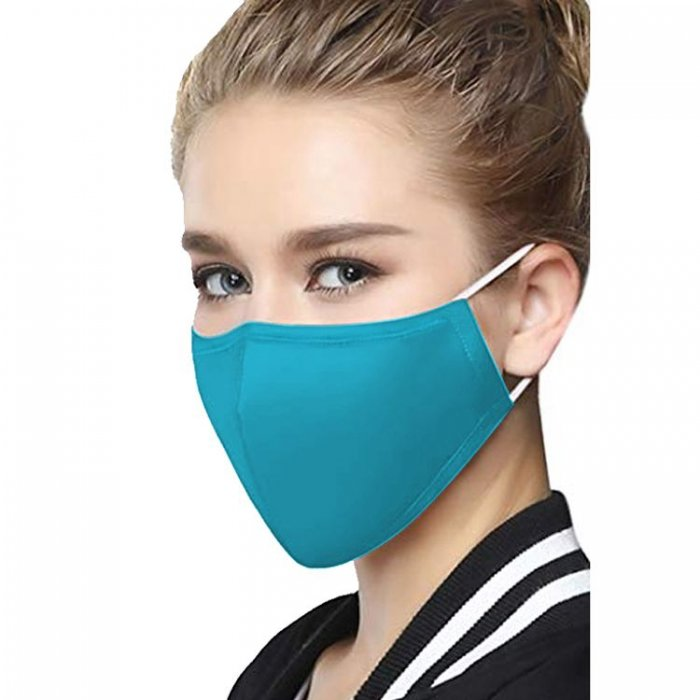 Global Washable Face Mask Aqua