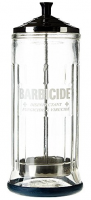 Barbicide Disinfectant Glass Jar- 37 oz.