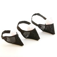 Mesh Cat Muzzle- Pack Of 3