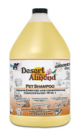 Double K, The Groomers Edge Desert Almond Shampoo-1 Gallon