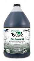 The Groomer's Edge Emerald Black Pet Shampoo, By Double K (1 Gallon)