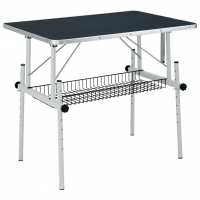 "Unleashed Adjustable Grooming Table [26"" x 24"" x 23-33""]"