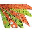 Cozymo Halloween Bandana Assorted 72 Pack