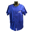 Cozymo, Loose Fit, Zip Up Royal Blue, Embroidery, Large