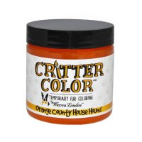 Warren London Critter Color Temporary Fur Coloring Orange