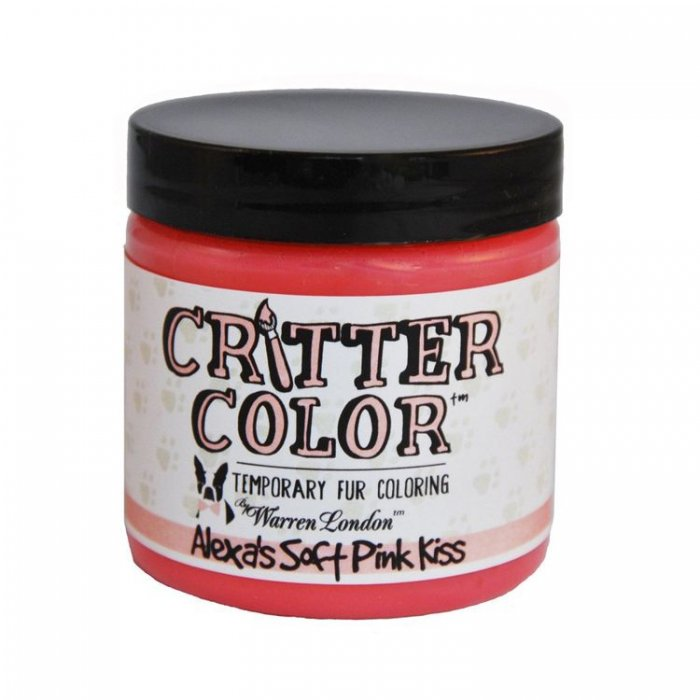 Warren London Critter Color Temporary Fur Coloring Pink