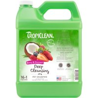 Tropiclean Berry & Coconut Deep Cleansing Pet Shampoo [1 Gallon]