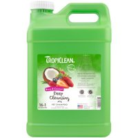 Tropiclean Berry & Coconut Deep Cleansing Pet Shampoo [2.5 Gallon]