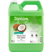 Tropiclean Oatmeal & Tea Tree Medicated Itch Relief Pet Shampoo [1 Gallon]