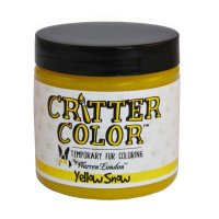 Warren London Critter Color Temporary Pet Fur Coloring Yellow