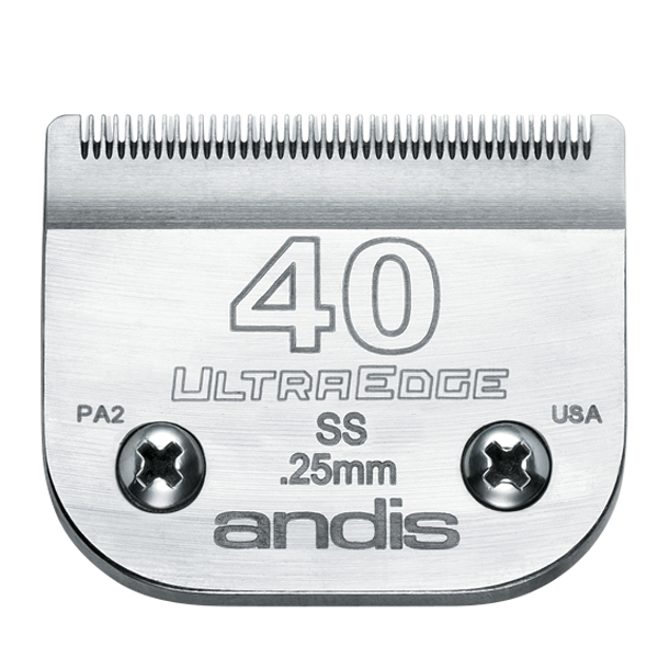 Andis UltraEdge #40 Stainless Steel Blade