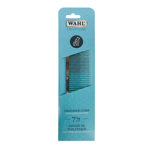 "Wahl 7-3/8"" Professional Groomer Comb- 63 Pins"