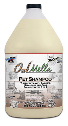 Double K, The Groomers Edge Oat Mella Shampoo- 1 Gallon