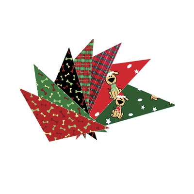 Cozymo Christmas Bandana Assorted 72 Pack
